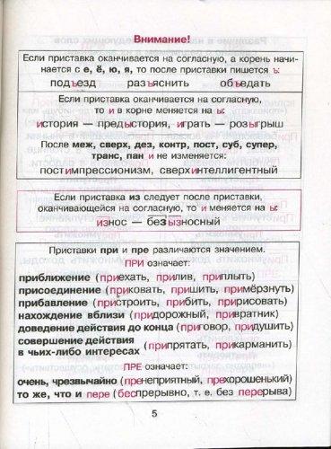 все правила русского языка скачать бесплатно